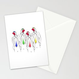 Sock Heads Stationery Cards