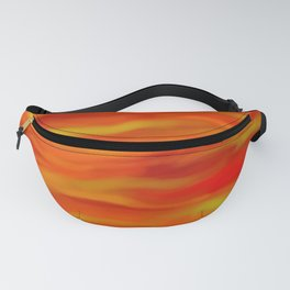 Pumpkin Spice and Butternut Squash Abstract Fanny Pack