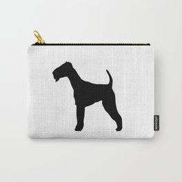 Schnauzer Silhouette Carry-All Pouch