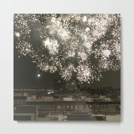 Harlem Fireworks 1 Metal Print