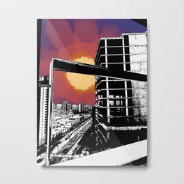 Barna Love Metal Print