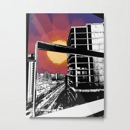 Barna Love Metal Print