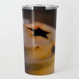 Candlestick at sunset Travel Mug