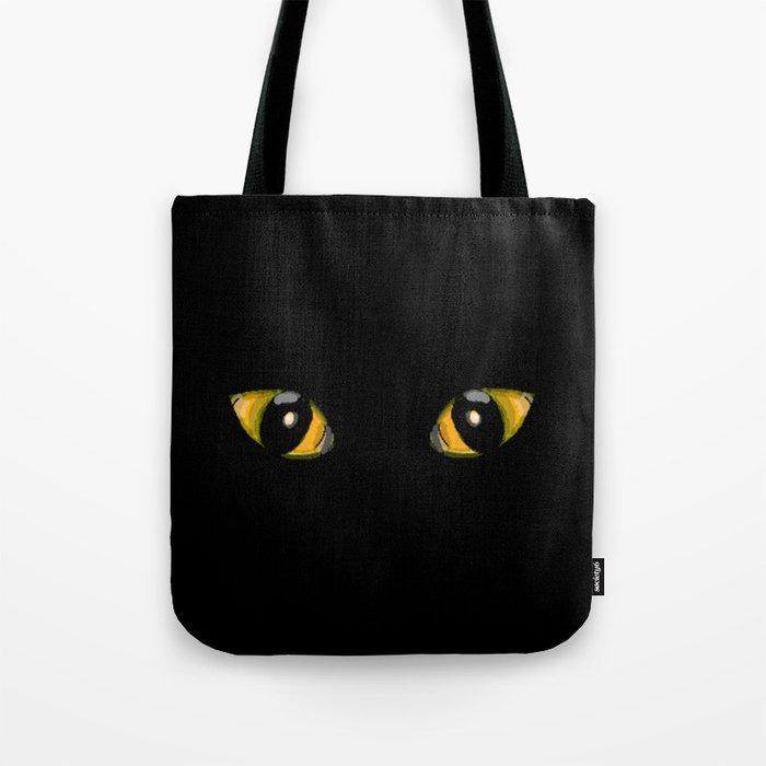 Cats Eyes Tote Bag