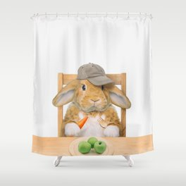 MIKKA BU Shower Curtain