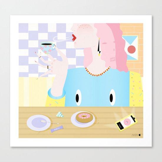 sugar babe Canvas Print
