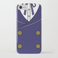 persona 4 iPhone & iPod Cases featuring Persona 4 Naoto Shirogane Jacket by Bunny Frost