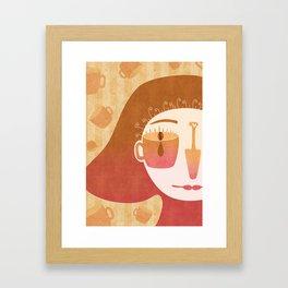 Caffè Framed Art Print