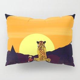 in the sunset art Pillow Sham