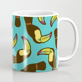 Toucan Pattern Coffee Mug