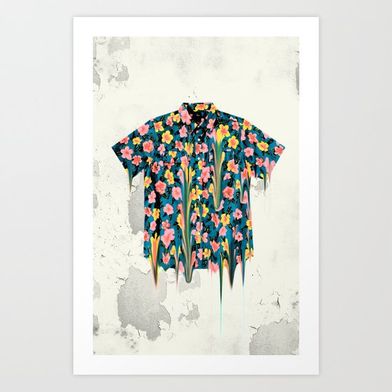 HEAVY HAWAII Art Print
