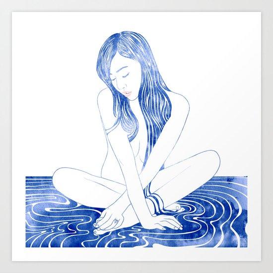Water nymph XCVIII Art Print