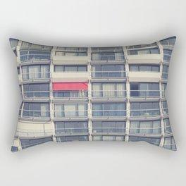 Red Awning Rectangular Pillow