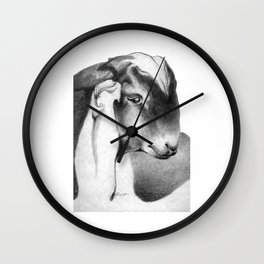 Anglo Nubian Buck Kid Wall Clock