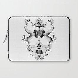 Fractal Art - Angel and Skelleton Laptop Sleeve