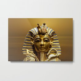 Egypt King Tut Metal Print