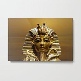 Egypt King Tut Metal Print