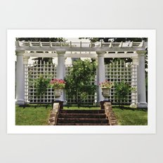 The Wedding Alter Art Print