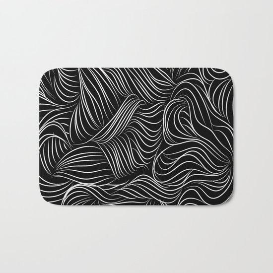 crazy lines Bath Mat