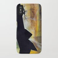 mirror iPhone & iPod Cases featuring mirror by Andreas Derebucha