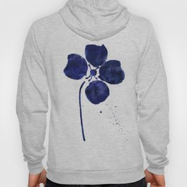 Blue & White Flower - 4 Hoody