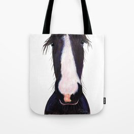 "Happy Horse "" JeFF ' by Shirley MacArthur Tote Bag"