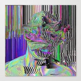 Delicate Portrait No.3 Canvas Print