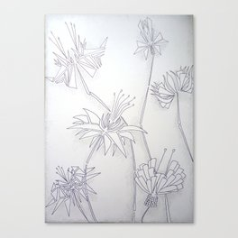 Algebraic bouquet Canvas Print