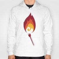 phoenix Hoodies featuring Phoenix by Picomodi