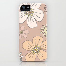 Fun and Funky Flowers No. 3 iPhone Case