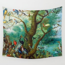 Jan van Kessel - Concert of birds Wall Tapestry
