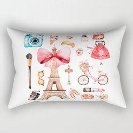 Welcome to Paris (2) Rectangular Pillow