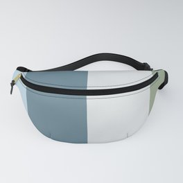 Parable to Behr Blueprint Color of the Year and Accent Colors Vertical Stripes 5 Fanny Pack