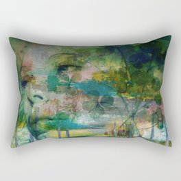 Out of Tears Rectangular Pillow