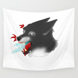 Crystal Clear Lies Wall Tapestry
