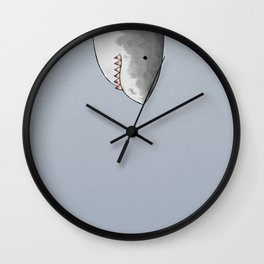 Unexpected Shark Wall Clock