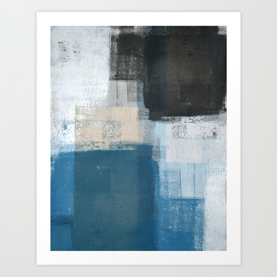 Slanted Art Print