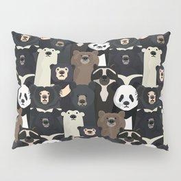 Bears of the world pattern Pillow Sham