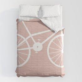 Pink Bike by Friztin Comforters