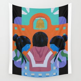 A Mission Wall Tapestry