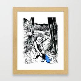 Childhood Memories Framed Art Print