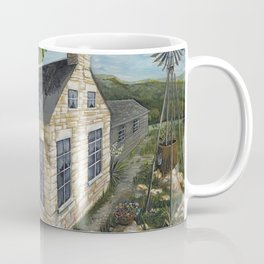 1870's Life at Ogletree Post Office & Stage Stop Coffee Mug