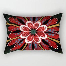 Coral fingers Rectangular Pillow