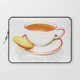 Cup of Tea and a biscuit Laptop Sleeve