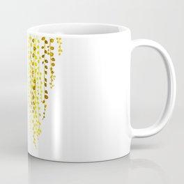 String of pearls #1 in yellow Coffee Mug