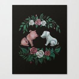 Fuck Speciesism Canvas Print