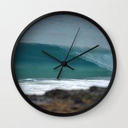 Breaking Wave Wall Clock