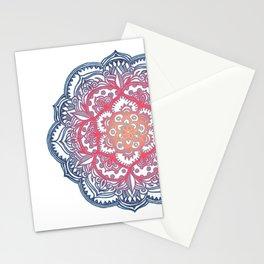 Radiant Medallion Doodle Stationery Cards