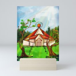 Only house Mini Art Print