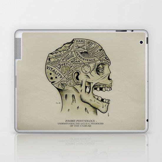 Zombie Phrenology Laptop & iPad Skin
